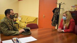 El Gobierno regional traslada al nuevo subdelegado de Defensa en Cuenca su compromiso para seguir trabajando de manera conjunta