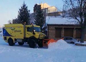 El operativo de Geacam trabaja hoy en el rescate de varias personas aisladas por la nieve en diversos municipios de Guadalajara
