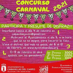 Habrá Concurso de Disfraces en el Carnaval 2021 de Cabanillas, pero será «online»