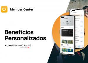 HUAWEI lanza una nueva actualización de Huawei Member Center con ventajas y recompensas exclusivas para los usuarios
