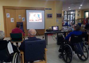 Importante colaboración del Ayuntamiento de Huete con las actividades de la residencia