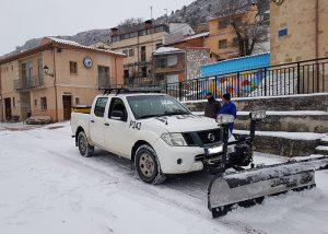 """La Diputación de Cuenca ha tenido trabajando durante el temporal a 55 vehículos en un dispositivo """"sin precedentes"""""""