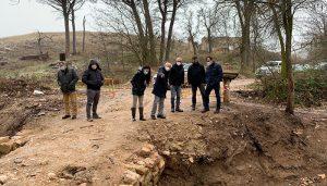 La Diputación de Cuenca invierte 50.000 euros en restaurar el puente romano 'Los baños' enclavado en Saelices