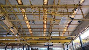 La Diputación de Guadalajara invierte 37.000 euros en una nueva y más eficiente iluminación del polideportivo San José