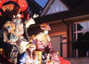 La ilusión viajó calle por calle en la Cabalgata de Reyes de Cabanillas