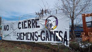 La plantilla de Gamesa Cuenca volverá a rechazar este miércoles el cierre de la planta