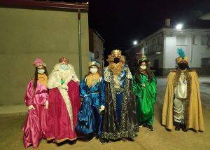 Los Reyes Magos no se olvidan de pasar por Málaga de Fresno