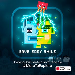 Los usuarios de Huawei AppGallery, de los primeros en disfrutar del juego Save Eddy Smile a nivel global