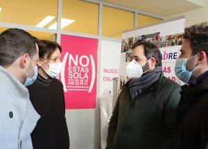 Paco Núñez visita Red Madre en Guadalajara