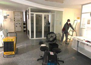 Resuelta en menos de una hora una avería que afectó este miércoles al techo de uno de los módulos de la UCI del Hospital de Guadalajara