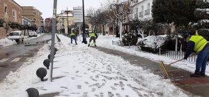 San Clemente se ha enfrentado a una nevada histórica en la que el valor humano ha sido un factor decisivo
