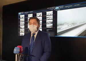 Sigue activado en Castilla-La Mancha el Plan de Vialidad Invernal para hacer frente a los incidentes causados en la Red Regional de Carreteras