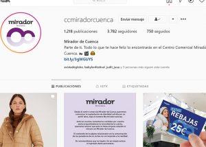 Suplantan la identidad del Centro comercial El Mirador de Cuenca en una cuenta de instagram