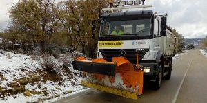 Suspendidas para este miércoles todas las rutas escolares de la provincia de Cuenca debido a la nieve acumulada y las heladas previstas para las próximas horas