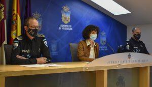 El Ayuntamiento de Guadalajara ofrecerá balances cuatrimestrales relativos a la seguridad, dentro de las competencias municipales