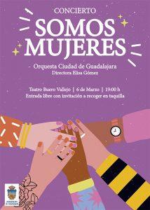 El Ayuntamiento de Guadalajara programa para el 8M el concierto 'Somos mujeres' con obras de cinco grandes compositoras