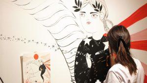 El Centro Joven de Cuenca reinicia su programación artística este jueves con la muestra de Elena Carrasco 'Perros de porcelana y otras historias'