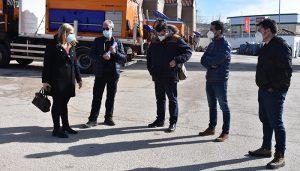 El Gobierno regional agradece el trabajo de los equipos de brigadas de carreteras en el mantenimiento de la red autonómica de la provincia de Cuenca