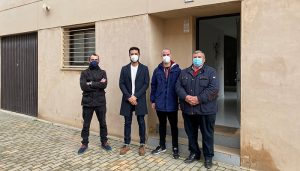 El Gobierno regional entrega una vivienda de protección oficial en el municipio de Villamayor de Santiago