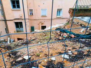 El Grupo Popular insta a Dolz a darle una solución de forma inminente al muro del barrio de Los Moralejos después de 9 meses