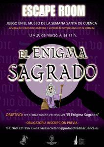 El Museo de Semana Santa será escenario del primer escape room dedicado a la Semana Santa de Cuenca