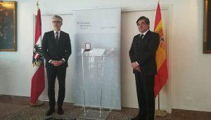 El profesor de la UCLM Jesús Padilla recibe la Cruz de Honor para las Ciencias y las Artes de Austria