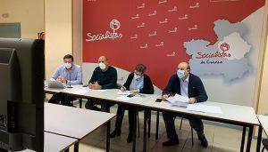 El PSOE de Cuenca analiza con los alcaldes y alcaldesas socialistas la situación de la pandemia y los proyectos de futuro