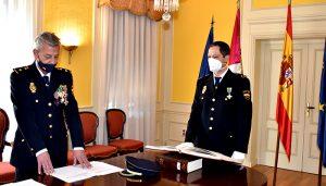 El subdelegado del Gobierno en Cuenca preside la jura del cargo de un nuevo inspector de la Comisaría Provincial de Policía Nacional
