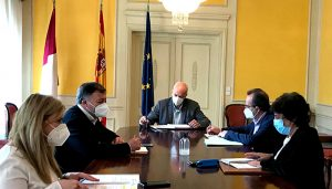 El subdelegado del Gobierno en Cuenca preside la reunión del Centro de Coordinación Operativa Provincial para el control y seguimiento de medidas contra el covid