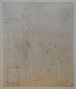 Grabados de Picasso Picasso y el circo, en el Museo de Arte Abstracto Español de Cuenca