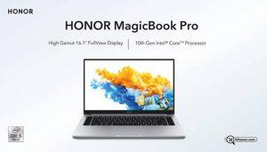Honor lanza Honor MagicBook Pro con procesador Intel® Core™ de 10ª generación