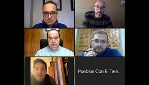 La agrupación Pueblos con el Tren comienza su ronda de contactos para evitar el cierre de la línea Madrid-Cuenca-Valencia