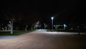 La Concejalía de Gestión Energética de Guadalajara ilumina el Parque de los Juncos
