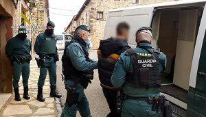La Guardia Civil desarticula una organización criminal que operaba en Sigüenza dedicada al tráfico de cocaína