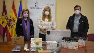 La Junta entrega en Cuenca kits de eficiencia y ahorro energético a mujeres víctimas de violencia de género en situación de vulnerabilidad