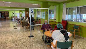 La Residencia Provincial Sagrado Corazón de Jesús ha retomado este martes las visitas de familiares