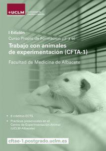 La UCLM formará en el trabajo con animales de experimentación