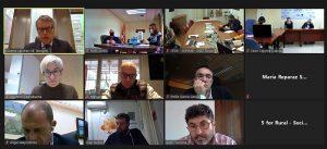 Las organizaciones empresariales de Cuenca, Soria y Teruel presentan al secretario de Estado de Telecomunicaciones su proyecto de digitalización