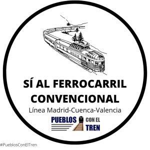 Las redes sociales se inundan a favor del ferrocarril convencional Madrid-Cuenca-Valencia