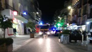 Los bomberos sofocan un incendio en Carretería provocado por un colchón