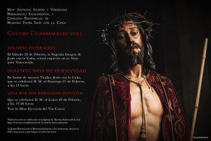 Los primeros Cultos como Hermandad Sacramental de Nuestro Padre Jesús con la Caña