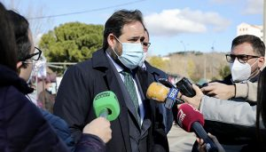 Núñez reclama a Page que apruebe en el próximo Consejo de Gobierno retrasar el toque de queda a las 2300 horas en la región