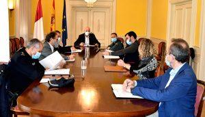 Rodríguez preside en Cuenca la reunión del Grupo de Trabajo Provincial para la colaboración entre la Inspección de Trabajo y las Fuerzas y Cuerpos de Seguridad del Estado