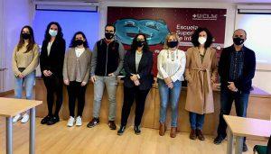 Un grupo de estudiantes de la Escuela de Informática de Ciudad Real desarrollan la web de la tienda solidaria de AFANION