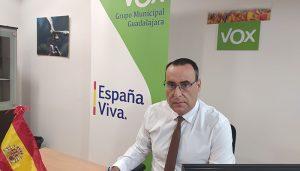 VOX pregunta al alcalde de Guadalajara si los miembros del equipo de Gobierno municipal se han vacunado del Covid-19