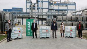 BASF dona 2,4 toneladas de hidrogel a las instituciones locales de Castilla-La Mancha