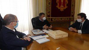 CEOE-Cepyme Cuenca y Ayuntamiento de Cuenca analizan detalles para seguir atrayendo empresas a la ciudad