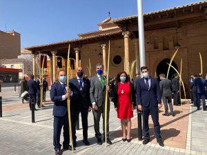 Concejales del Grupo Popular participan en la celebración del Domingo de Ramos en Guadalajara