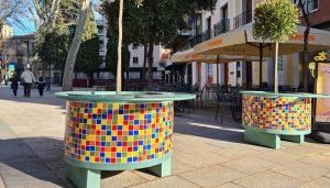 El Ayuntamiento de Guadalajara inicia la sustitución de jardineras deterioradas en el casco histórico