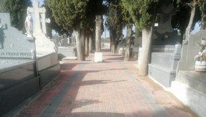 El Ayuntamiento de Jadraque completa la primera fase de mejoras en el cementerio municipal